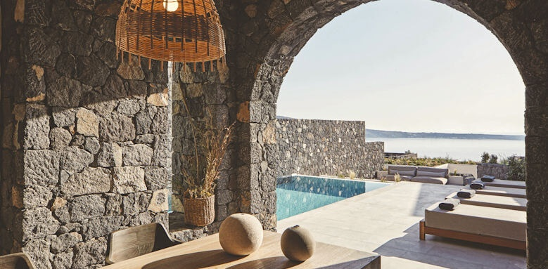 Canaves Oia Epitome, aqua retreat