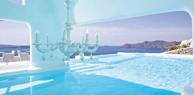 Canaves Oia Hotel, second pool