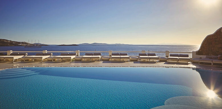 Kouros Boutique Hotel, pool view
