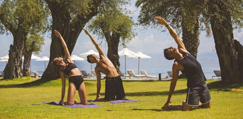 Domes Miramare, yoga