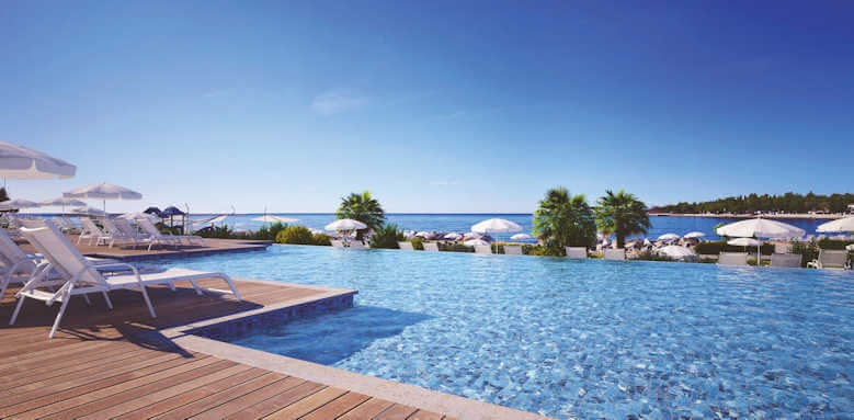 Valamar Collection Marea Suites, pool view