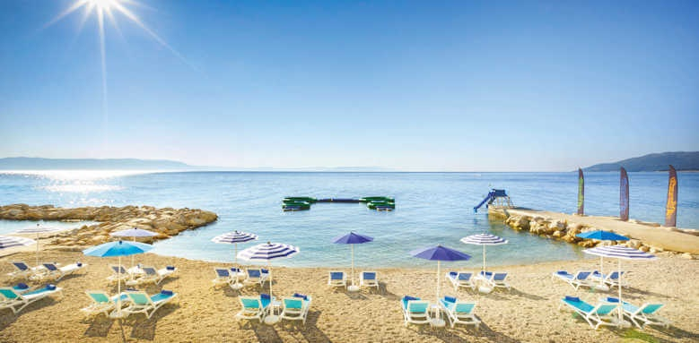 Valamar Collection Girandella, beach view