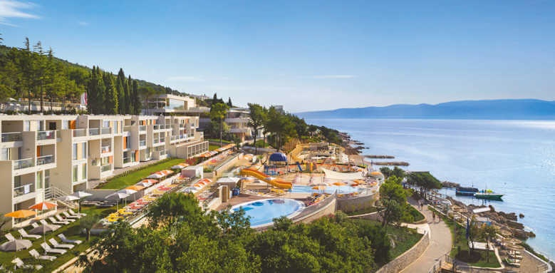 Valamar Collection Girandella, view over hotel