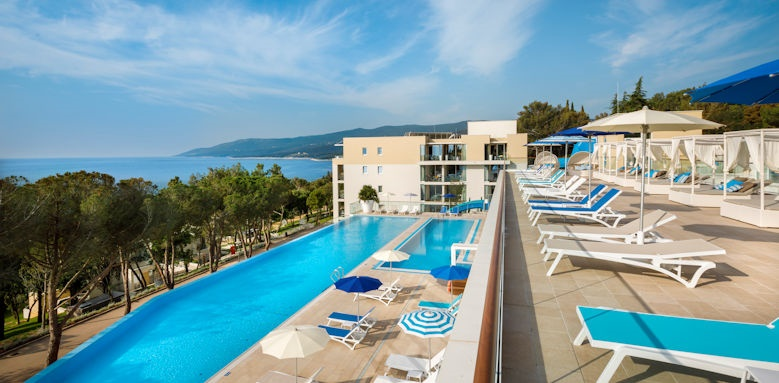 Valamar Collection Girandella Resort, exterior pool
