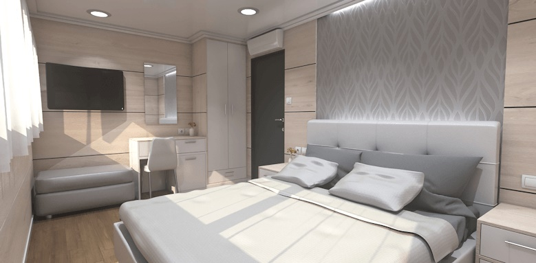 MS Ambassador, ambassador cabin with double bed