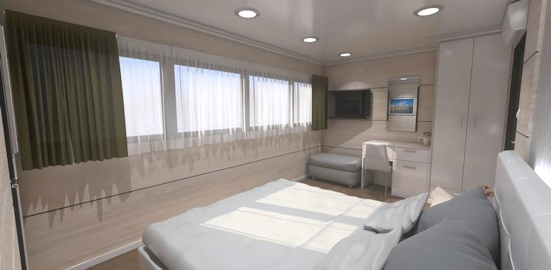 MS Ambassador Split to Dubrovnik, double room