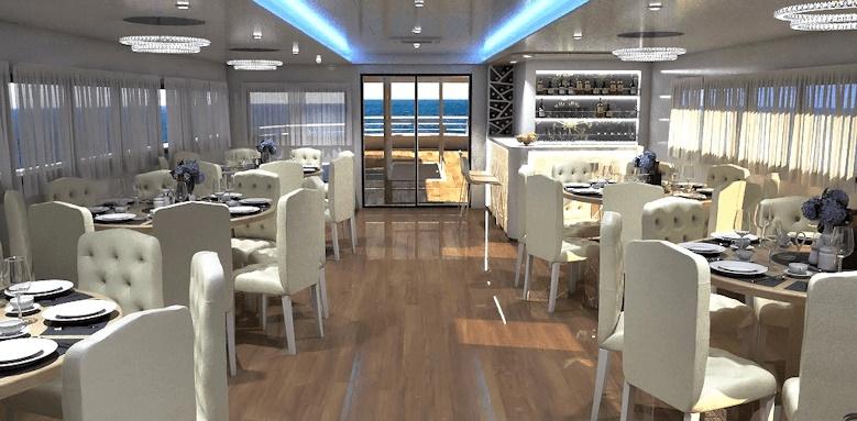 MS Ambassador Split to Dubrovnik, restaurant
