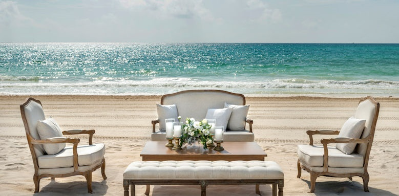 Belmond Maroma, beach seating