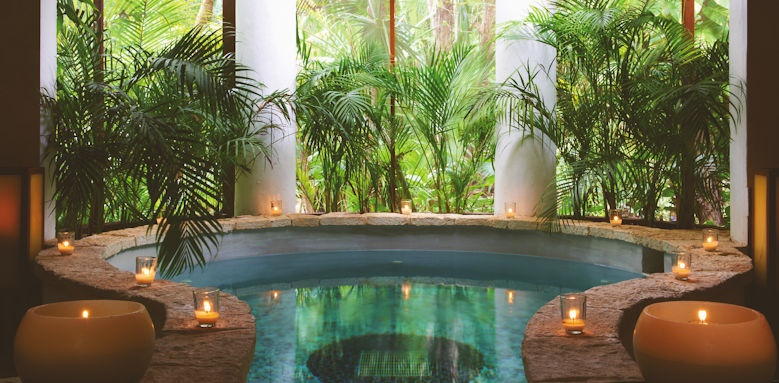 Belmond Maroma, spa pool