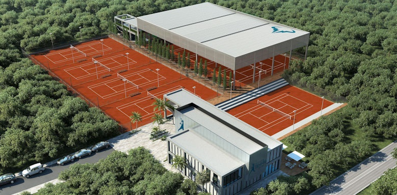 TRS Coral, tennis courts
