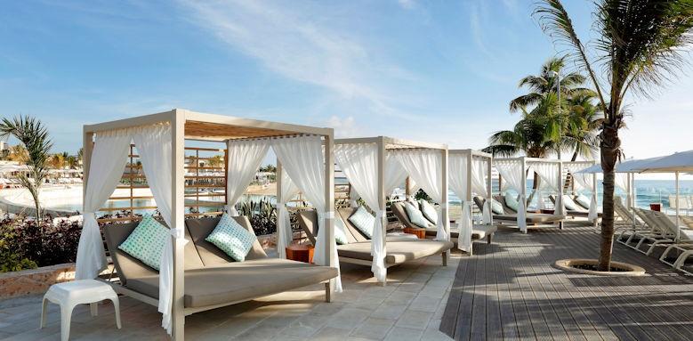 TRS Yucatan, beach cabana