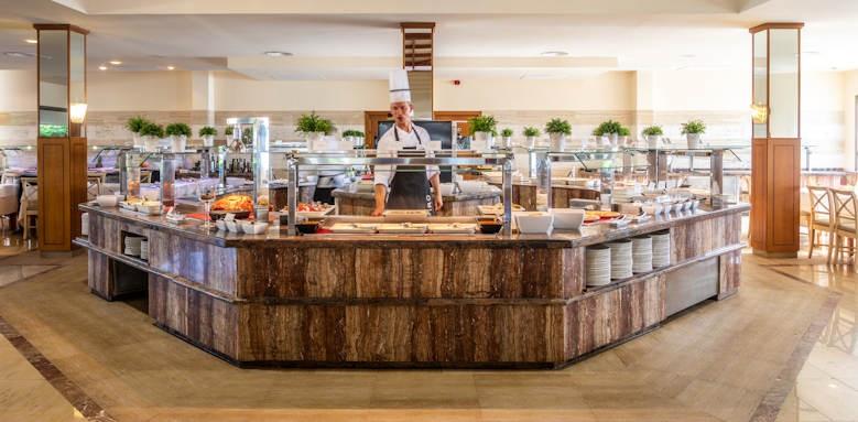 Zafiro Menorca, buffet restaurant