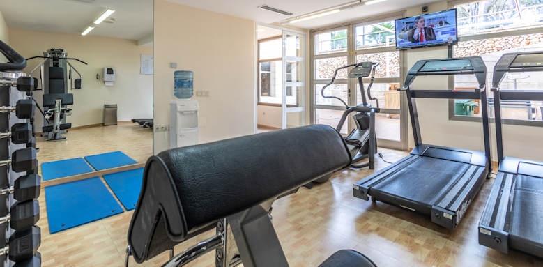 Zafiro Menorca, gym