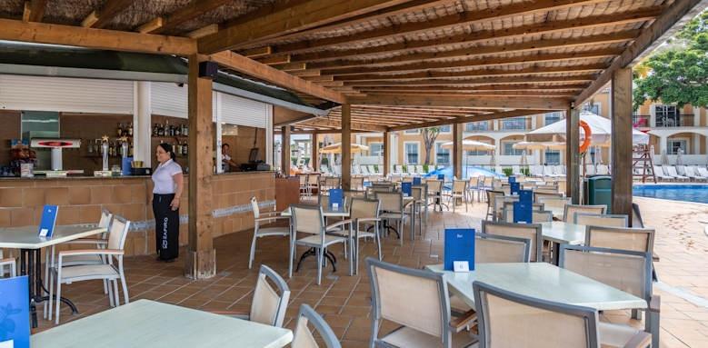 Zafiro Menorca, La Palapa Pool Bar