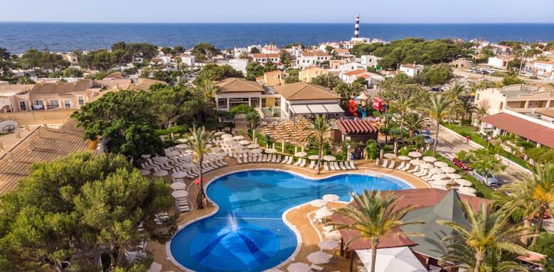 Zafiro Menorca, pool overview