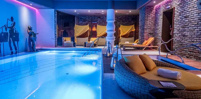 Aria Hotel Budapest, indoor pool