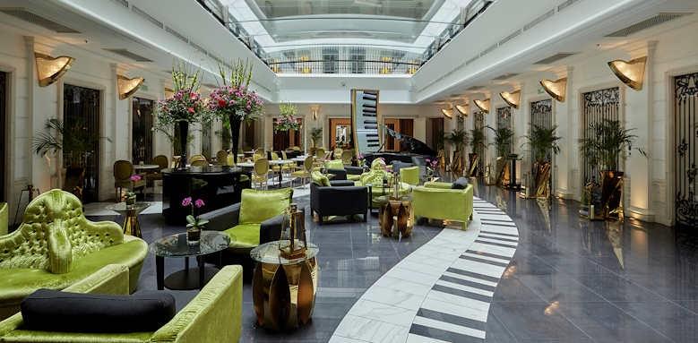 Aria Hotel Budapest, lobby area