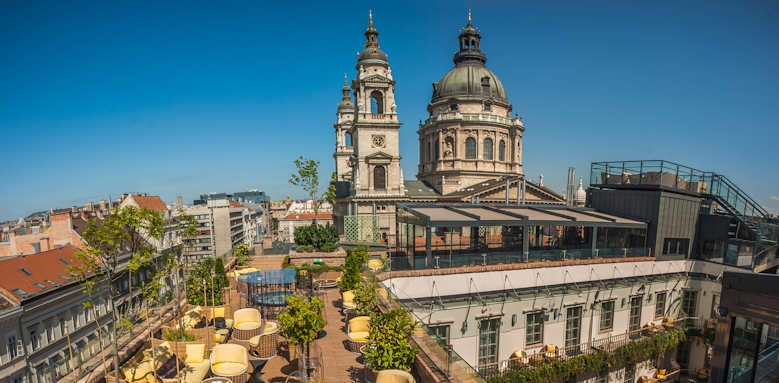 Aria Hotel Budapest, roof terrace