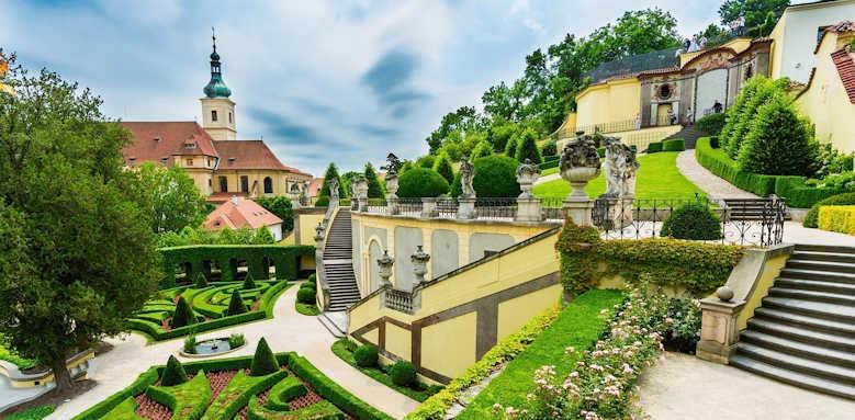 Prague Hotel Aria, gardens
