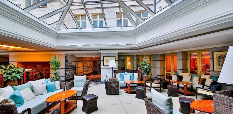 Prague Hotel Aria, lobby