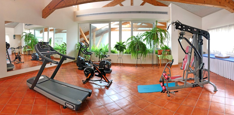 Albatroz Beach & Yacht Club, gym