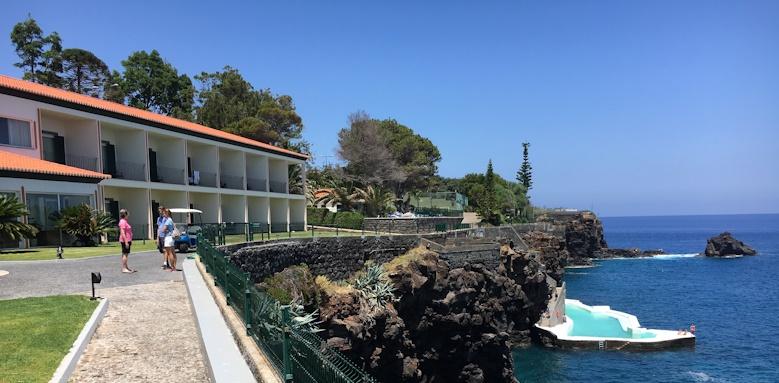 Albatroz Beach & Yacht Club, exterior view of hotel