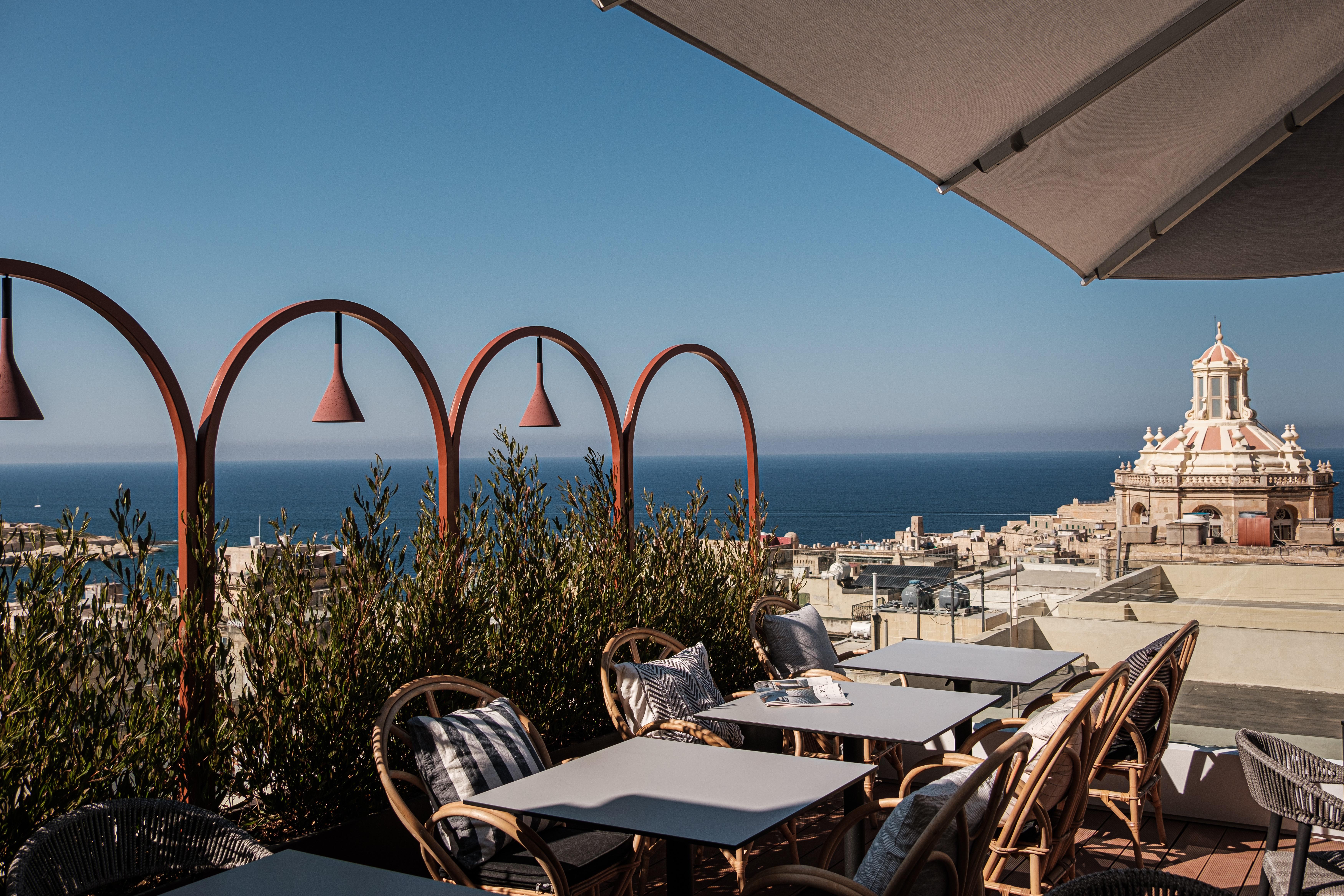 Rosselli, roof top terrace
