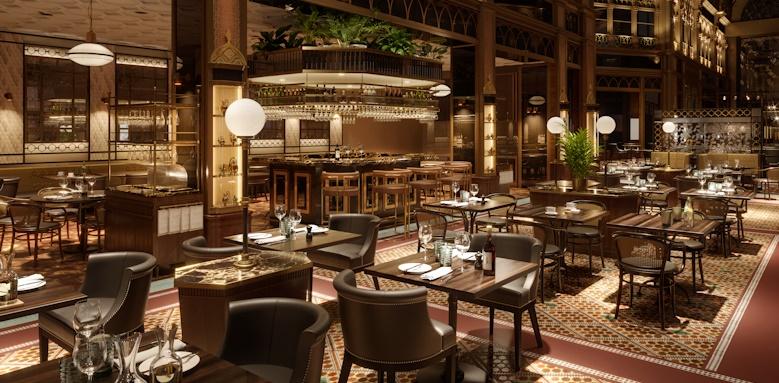 Parisi Udvar Hotel, cafe