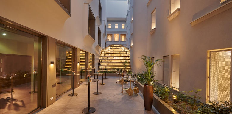 Parisi Udvar Hotel, recpetion