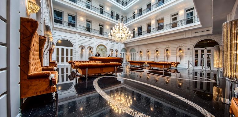 Prestige Hotel Budapest, lobby 2