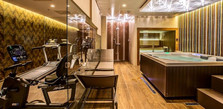 Prestige Hotel Budapest, spa