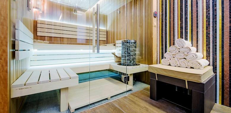 Prestige Hotel Budapest, sauna