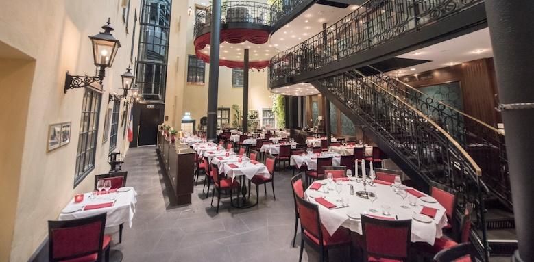 Hotel Kungstradgarden, restaurant downstairs