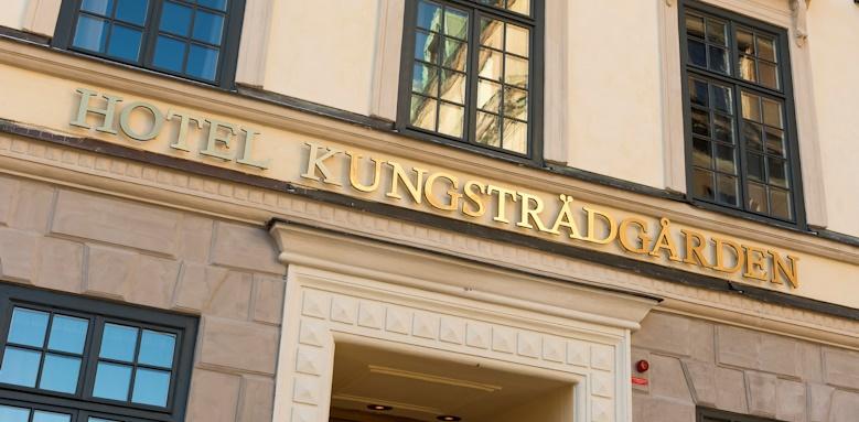 Hotel Kungstradgarden, exterior view of hotel