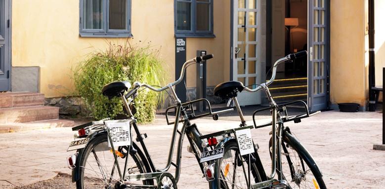 Hotel Skeppsholmen, hotel entrance