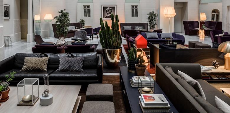 Nobis Hotel Stockholm, lounge area