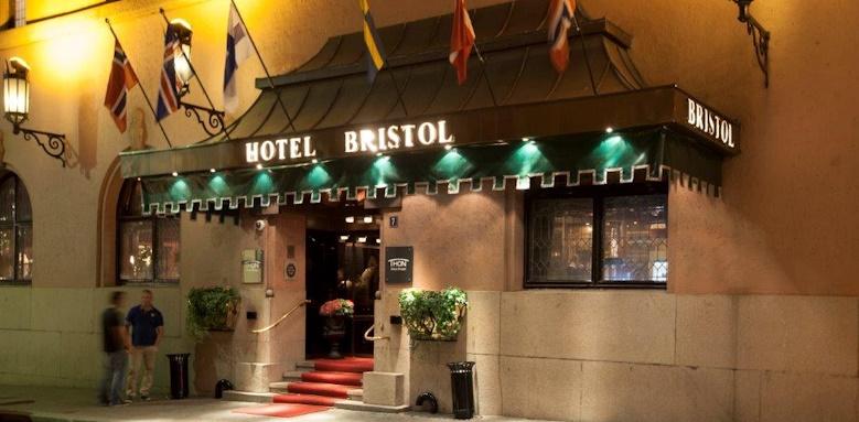 Hotel Bristol, hotel exterior