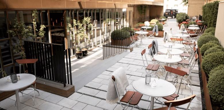 Nobis Hotel Copenhagen, outdoor terrace
