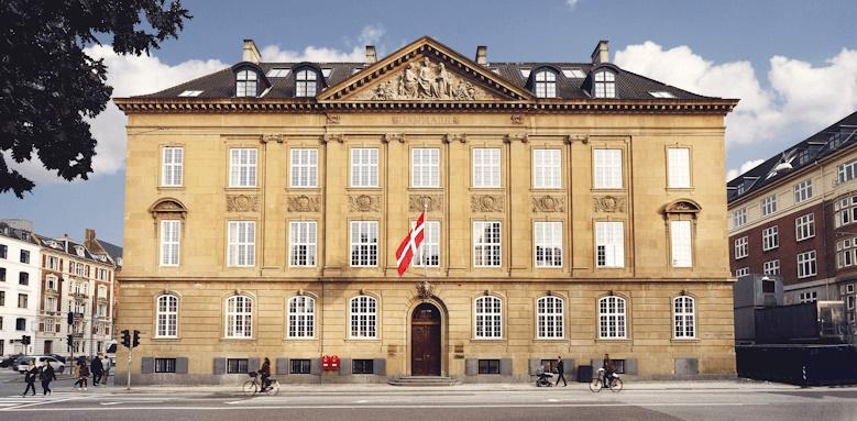 Nobis Hotel Copenhagen, exterior of hotel