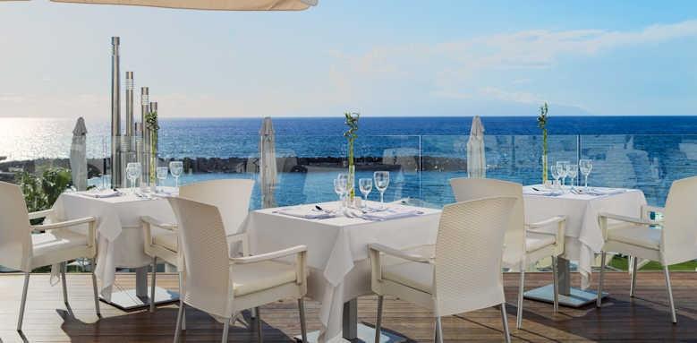 H10 Gran Tinerfe, buffet terrace