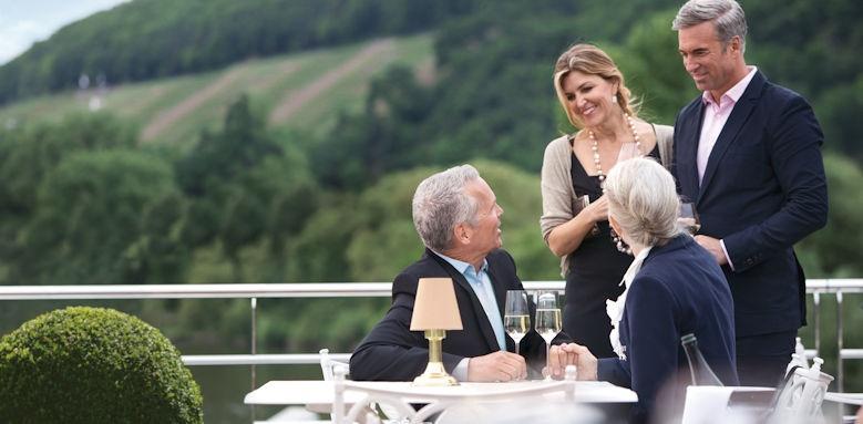 Maria Theresa, deck experience