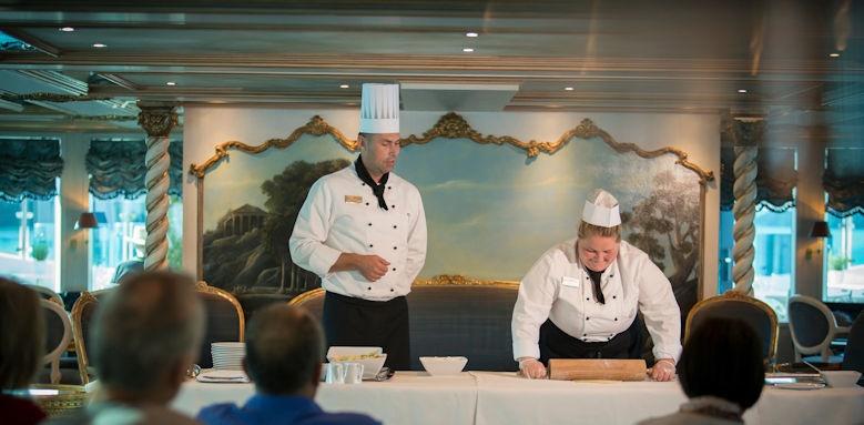 Maria Theresa, cooking show