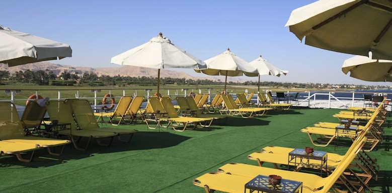 Steigenberger Regency Nile Cruise, sun deck
