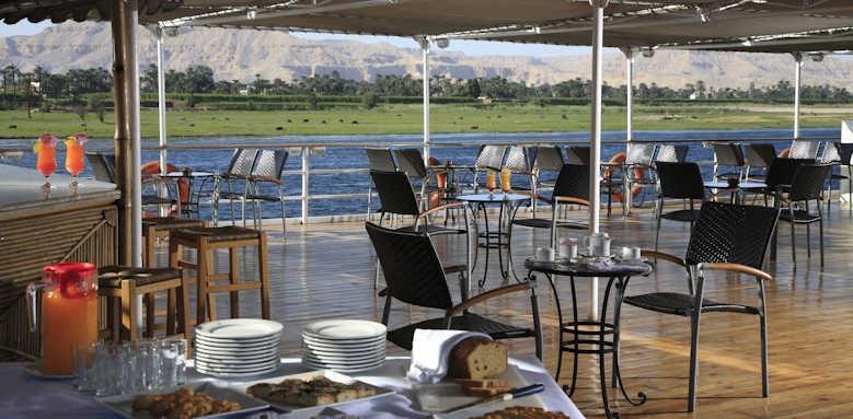 Steigenberger Regency Nile Cruise, sun deck 2