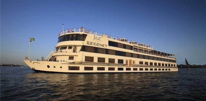 Steigenberger Regency Nile Cruise, exterior of boat