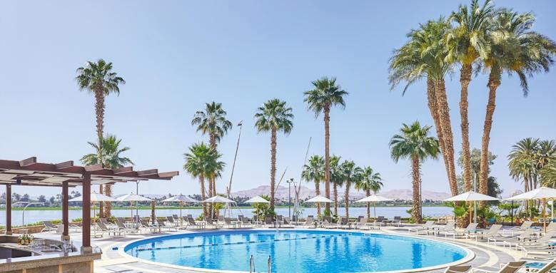Steigenberger Achti Resort, nile side pool