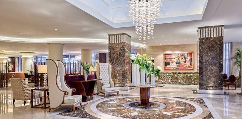Steigenberger Cairo Pyramids Hotel, lobby 2