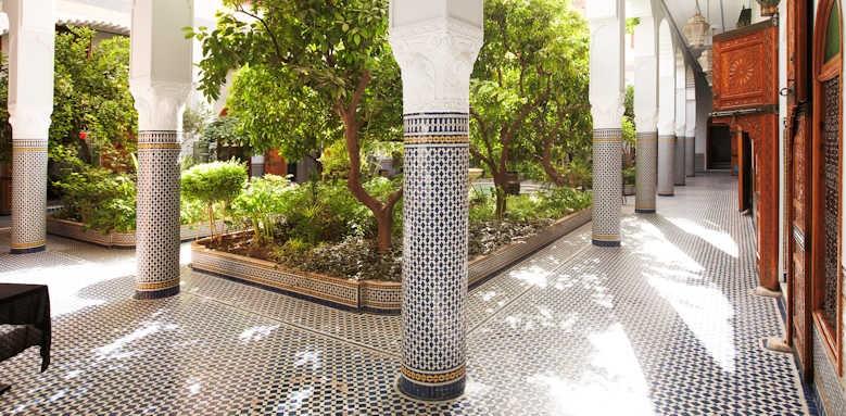 Palais Amani, hotel garden