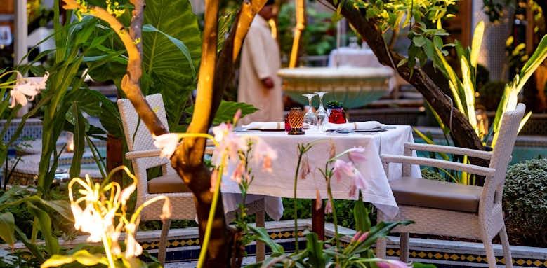 Palais Amani, Eden restaurant