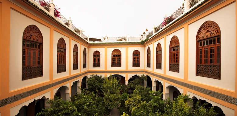Palais Amani, exterior view of hotel